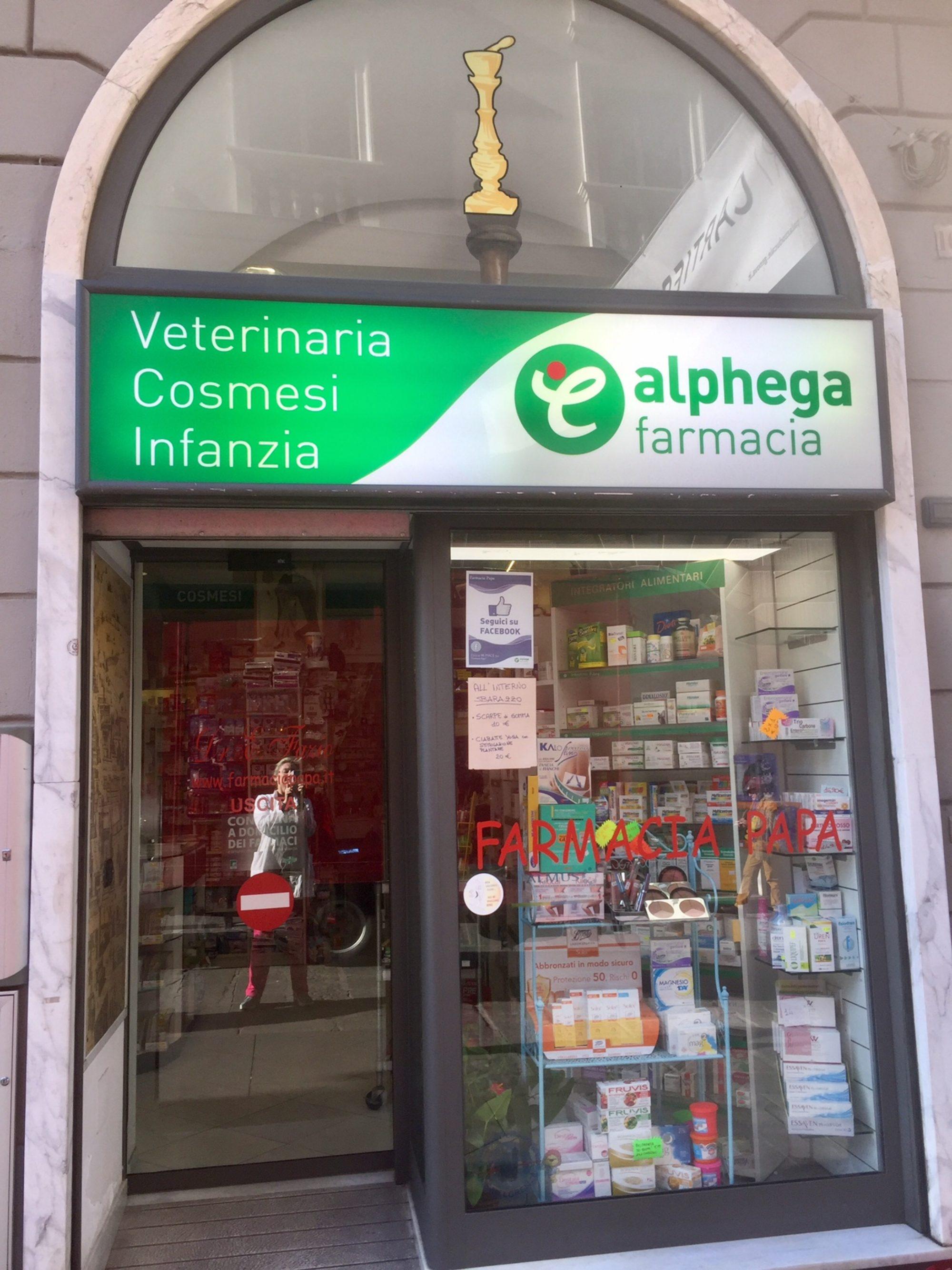 Farmacia Papa dei Dr. Ettore ed Elena Fazio - Genova Tel.0104207320